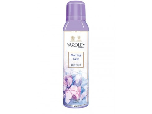 YARDLEY WOMEN MORNING DEW DEO BODY SPRAY 150ML