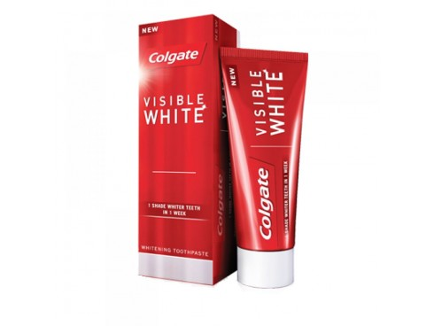 COLGATE VISIBLE WHITE TOOTH PASTE 50GM