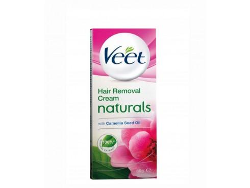 VEET NATURAL SENSITIVE HAIR REMOVAL CREAM 60GM