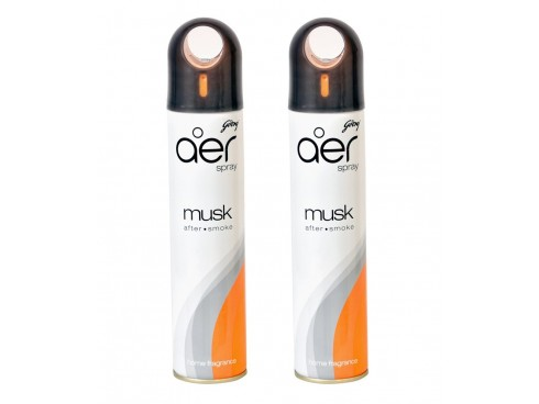 GODREJ AER AIR FRESHER SPRAY MUSK AFTER SMOKE 300ML