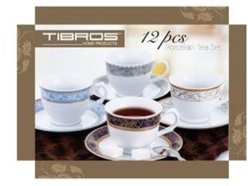 TIBROS CUP & SAUCCER 6+6