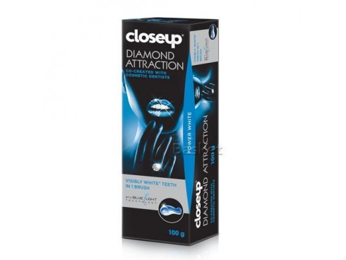 CLOSE UP DIAMOND ATTRACTION VISIBLY WHITE TOOTHPASTE 100GM