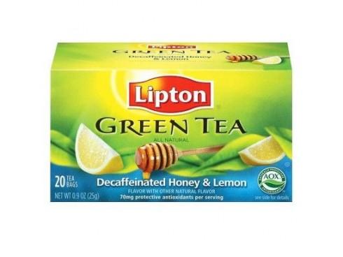 LIPTON GREEN TEA HONEY LEMON 20S TEA BAGS