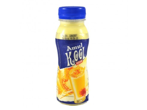 AMUL KOOL KESAR 200 ML PET  BOTTLE