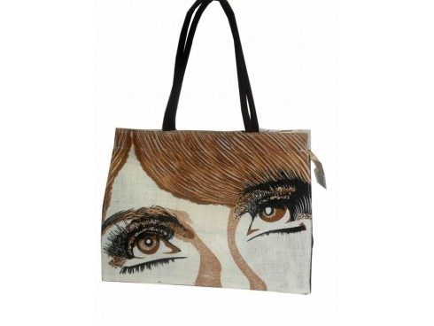 DESIGNER LADIES TOTES (EYE PRINT)