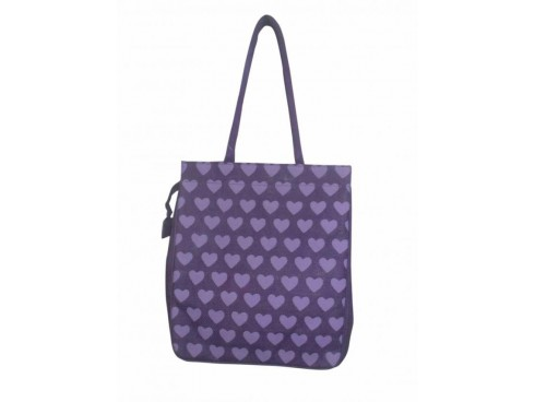 TRENDY LADIES TOTES FB-16 (BLUE HEART DESIGN)