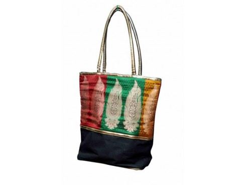 BANARAS LADIES TOTES FB-39  (TRICOLOUR)