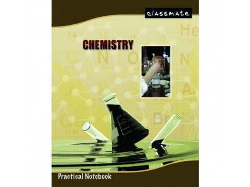 ITC CLASSMATE PRACTICAL NOTE BOOK HARD BIND- CHEMISTRY 180 PAGES