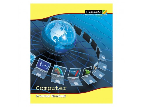 ITC CLASSMATE PRACTICAL NOTE BOOK HARD BIND- COMPUTER 116 PAGES
