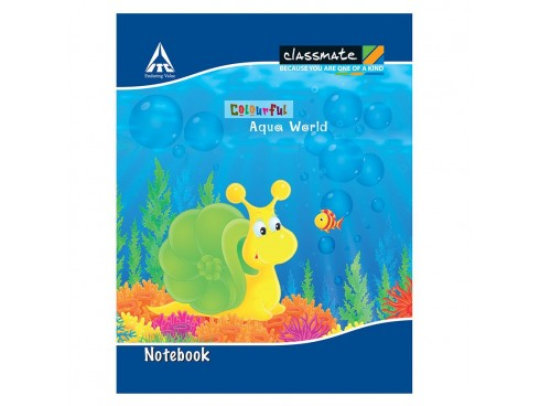 ITC CLASSMATE SINGLE LINE NOTE BOOK SOFT BIND CROWN SIZE 140 PAGES