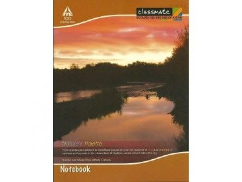 ITC CLASSMATE SINGLE LINE NOTE BOOK SOFT BIND SCHOOL SIZE 92 PAGES