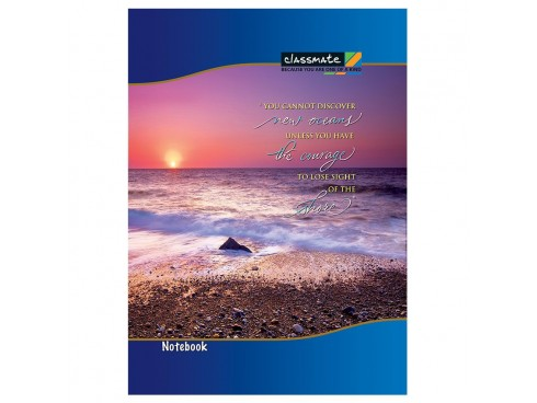 ITC CLASSMATE SINGLE LINE SOFT BIND LONG BOOK 297 X 210 SIZE 240 PAGES
