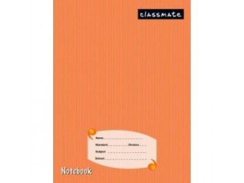 "ITC CLASSMATE SQUARE 0.5"" NOTE BOOK HARD BIND SCHOOL SIZE 172 PAGES"