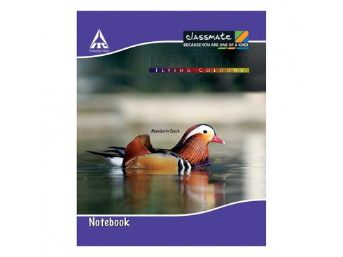 ITC CLASSMATE UNRULED NOTE BOOK SOFT BIND CROWN SIZE 48 PAGES