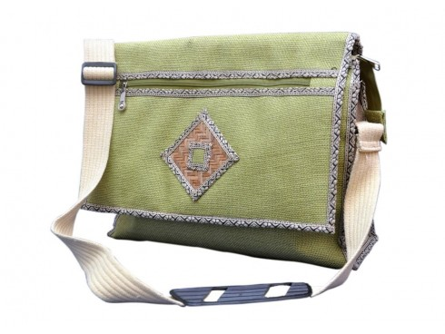 DESIGNER LADIES MESSENGER BAG (GREEN)