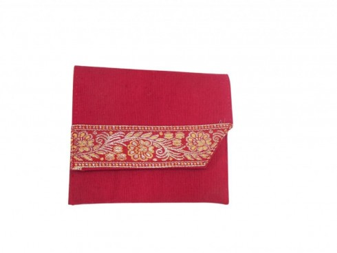 LACE PURSE (RED)