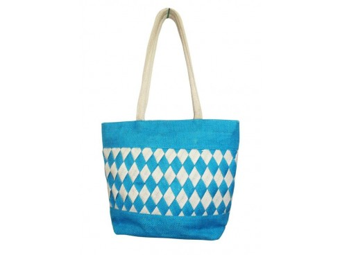 DESIGNER LADIES TOTES LB-04 (BLUE DIAMOND)