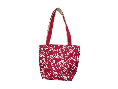 FLORAL DESIGN LADIES TOTES LB-07  (PINK)