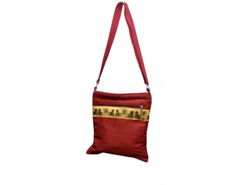 CLASSIC LADIES SLING BAG LB-102 (RED)