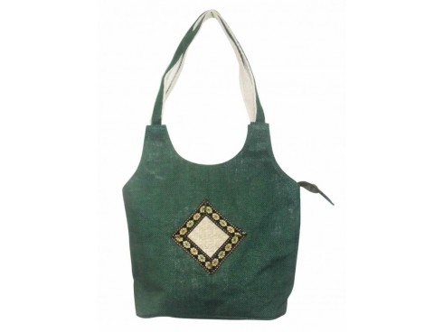DESIGNER LADIES SLING BAG LB-27 (GREEN, DIAMOND)