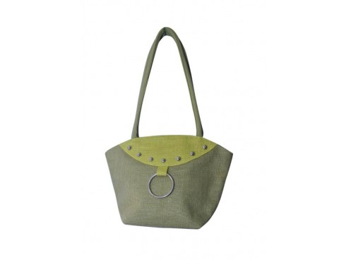 DESIGNER TOTES LADIES BAG LB-60 (GREY & GREEN)