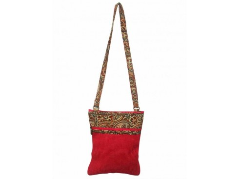 DESIGNER LADIES SLING BAG LB-64 (RED)