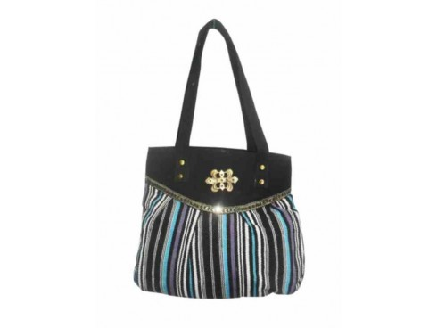 DESIGNER LADIES HANDBAG LB-75 (MULTICOLOUR)