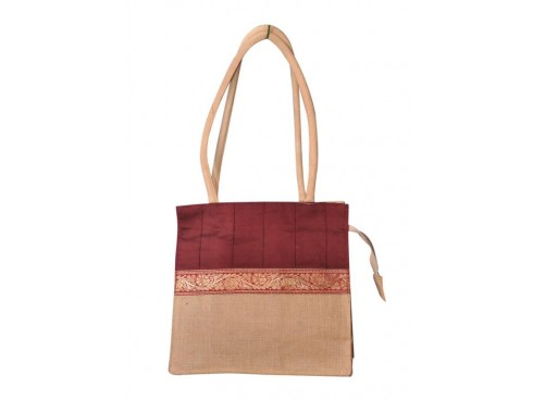 DESIGNER LADIES TOTES LB-76 (RED & CREAM)