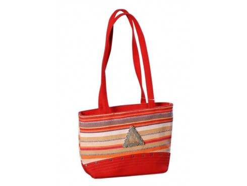 DESIGNER LADIES HAND BAG LB-79 (RED)