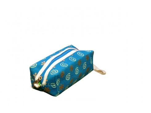 PENCIL BOX BAG (BLUE)