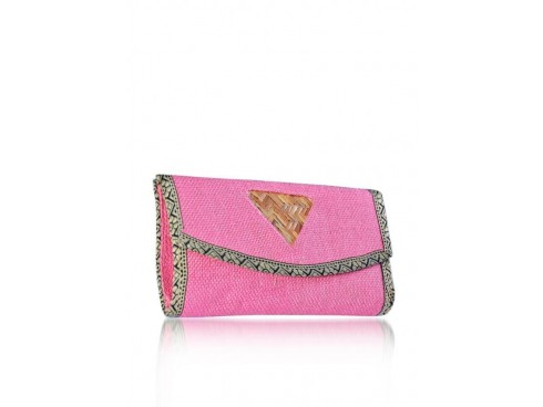 DESIGNER LADIES PURSE (PINK)