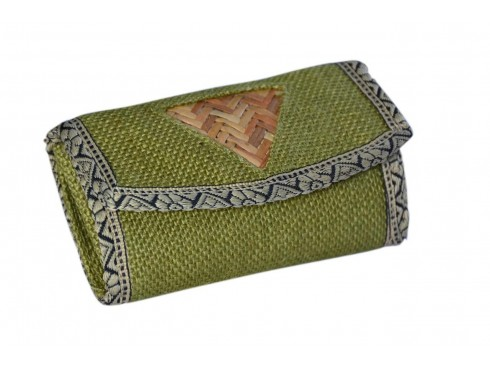 DESIGNER LADIES PURSE (GREEN DESIGN)