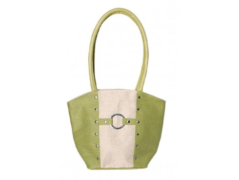 RUPA LADIES HANDBAG  (GREEN)