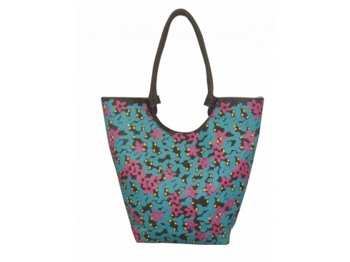 DESIGNER LADIES TOTES SB-16 (BLUE & PINK)