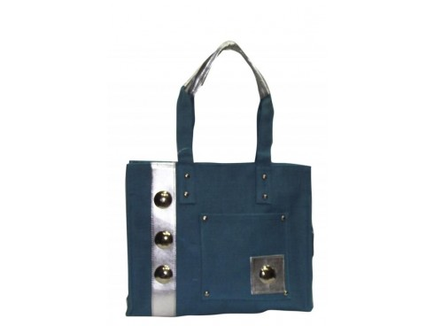 DESIGNER LADIES HANDBAG SB-37 (BLUE)