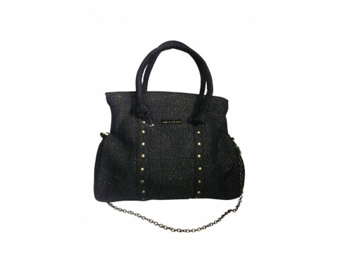 DESIGNER LADIES HANDBAG SB-74 (BLACK)