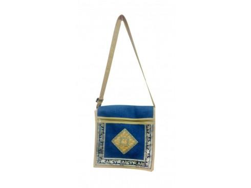 DESIGNER LADIES SLING BAG (BLUE)