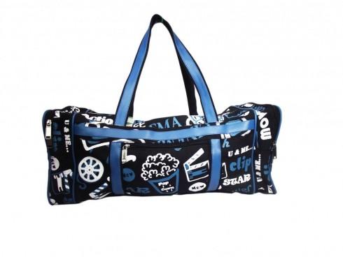 TRAVEL BAG (BLUE)