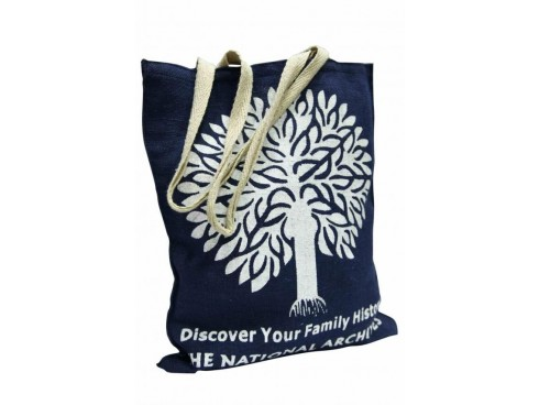 TREE DESIGN TOTES (BLACK & WHITE)