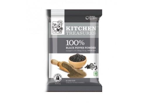 KITCHEN TREASURES BLACK PEPPER POWDER 100GM