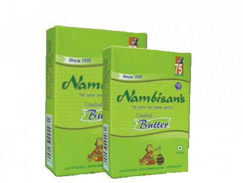 NAMBISANS UNSALTED BUTTER 100GM