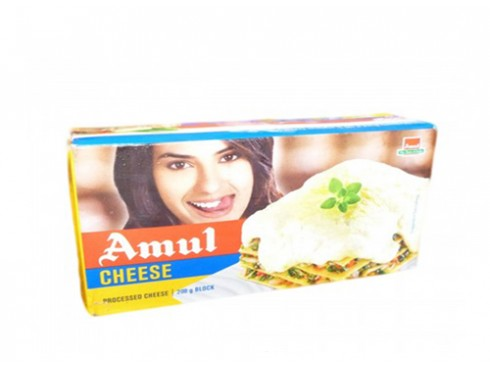 AMUL CHEESE BLOCK 200GM