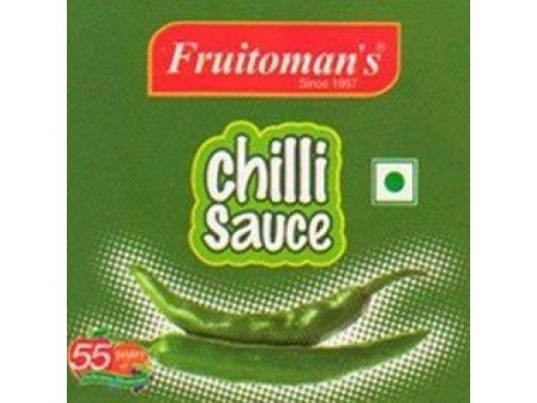 FRUITOMANS CHILLY SAUCE 200GM