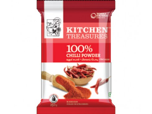 KITCHEN TREASURE CHILLI POWDER 1KG