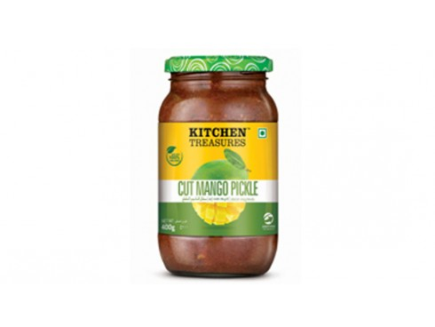 KITCHEN TREASURES CUT MANGO PICKLE 150GM