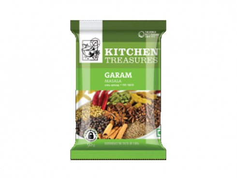 KITCHEN TREASURES GARAM MASALA 50 GM