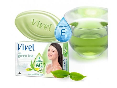 VIVEL SOAP GREEN TEA100GM