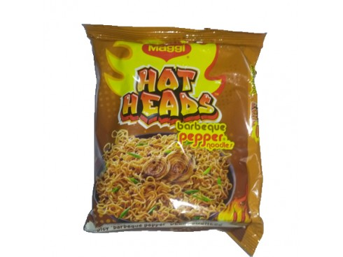 MAGGI HOT HEADS BARBEQUE PEPPER NOODLES 71 GM