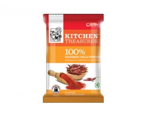 KITCHEN TREASURE KASHMIRI CHILLI POWDER 250GM