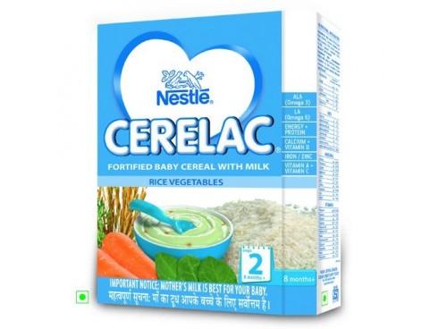 Nestle Cerelac - Rice Vegetables (Stage 2), 300 gm Carton